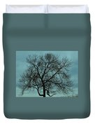 Bare Branches And Storm Clouds Duvet Cover