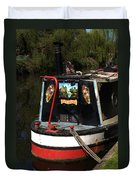 Barge Art Duvet Cover
