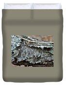 Bark - Lichen - Cat Brier Tendrils Duvet Cover