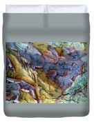 Bark Abstract Duvet Cover
