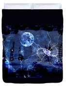Bark At The Moon Duvet Cover
