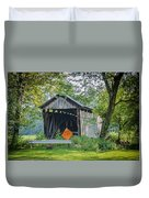 Barkhurst Covered Bridge  Duvet Cover