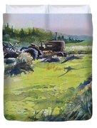 Barley Harvest Duvet Cover