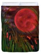 Barley Spike Moon Duvet Cover