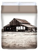 Barn And Irrigation Pipes Duvet Cover