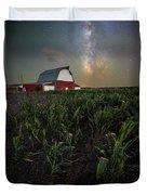 Barn Astronomy 2  Duvet Cover
