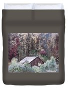 Barn At Cades Cove Duvet Cover