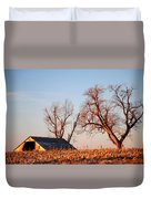 Barn At Sunrise Duvet Cover