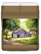 Barn By The Road Duvet Cover