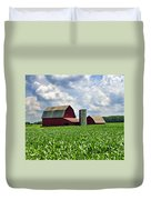 Barn In The Corn Duvet Cover