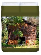 Barn In The Shade Duvet Cover