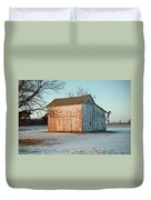 Barn Late Afternoon Duvet Cover
