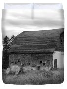 Barn On The River Flat Duvet Cover