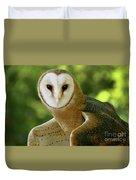 Barn Owl-6553 Duvet Cover