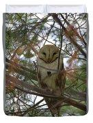 Barn Owl Sleeping Duvet Cover