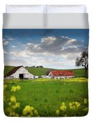 Barn Paso Robles, Ca Duvet Cover