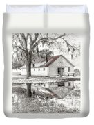 Barn Reflection Duvet Cover