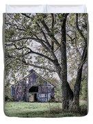 Barn Underneath The Tree Duvet Cover
