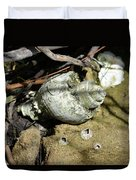 Barnacles And Crabs Duvet Cover