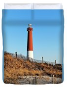 Barnegat Lighthouse Nj Duvet Cover