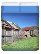 Barns Of Old Duvet Cover