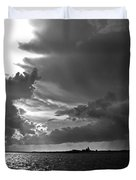 Barnstable Harbor Sky Duvet Cover