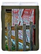 Barnyard Gate Duvet Cover