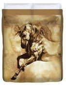 Baroque Horse Series IIi-i Duvet Cover