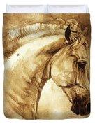 Baroque Horse Series IIi-iii Duvet Cover