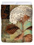 Baroque Hydrangea Patchwork Duvet Cover