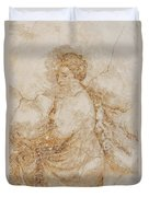 Baroque Mural Painting Duvet Cover