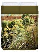Barrel Cacti Duvet Cover