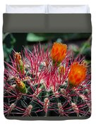 Barrel Cactus II Duvet Cover
