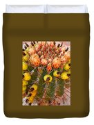 Barrel Cactus Duvet Cover