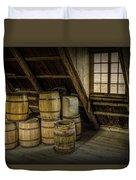 Barrel Casks Duvet Cover