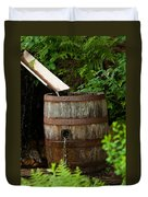 Barrel Of Water Duvet Cover