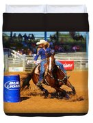 Barrel Rider Duvet Cover