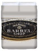 Barrel Shop Duvet Cover