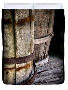 Barrels Duvet Cover