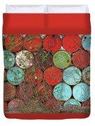 Barrels - Play Of Colors Duvet Cover