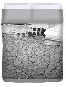 Barren Dry Land Duvet Cover