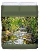 Barren Fork Creek Duvet Cover