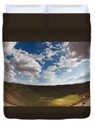 Barringer Meteor Crater #4 Duvet Cover