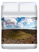 Barringer Meteor Crater #5 Duvet Cover