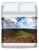 Barringer Meteor Crater #5 Duvet Cover