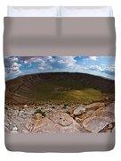 Barringer Meteor Crater #6 Duvet Cover