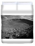 Barringer Meteor Crater #7 Duvet Cover