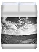 Barringer Meteor Crater Duvet Cover
