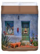 Barrio Viejo With Character Duvet Cover
