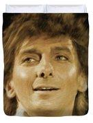 Barry Manilow, Music Legend Duvet Cover